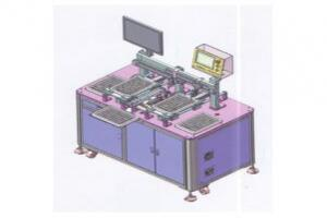 吹盘对吹盘CCD检测包装机