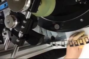 玻璃盘动态卡座检测