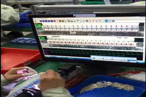 半自动双模组FPC检测机